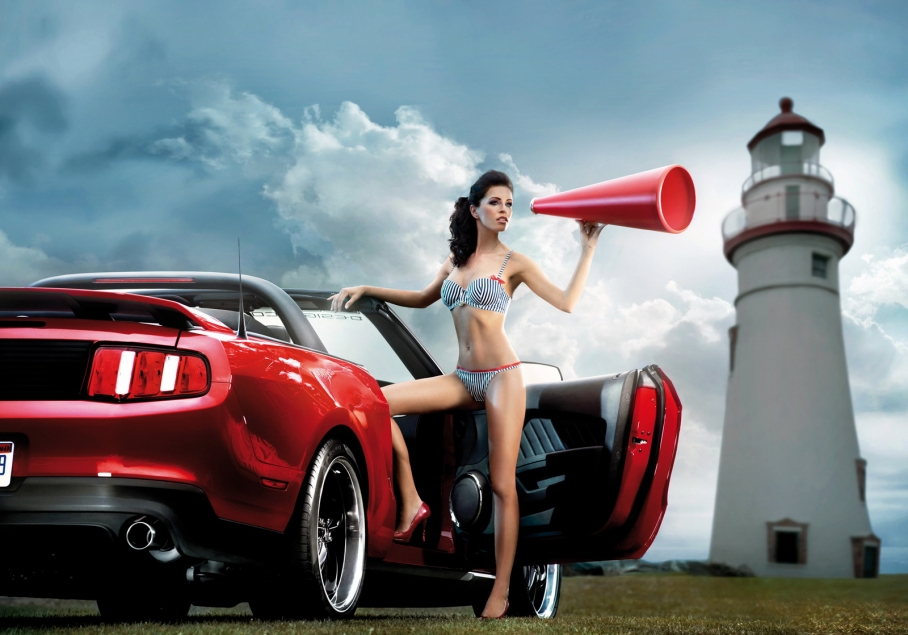 Cool cars and girls - Pin Up 11