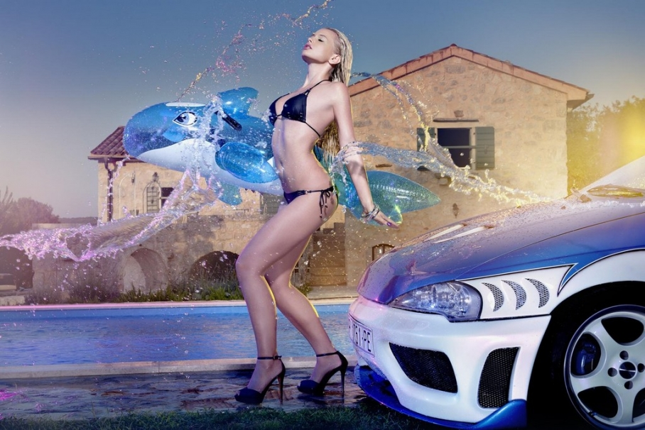 Cool cars and girls - Pin Up 13