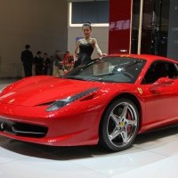 Sports Car Close Up - The Ferrari 458