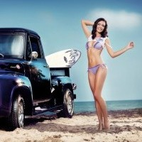 13 Cool Cars and Girls - Pin Up Pictures